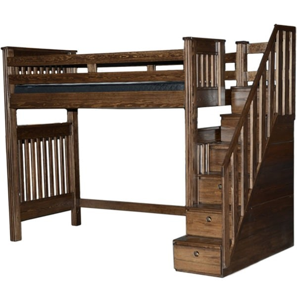 beautiful loft bed available in queen size