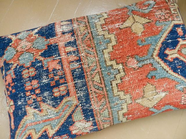 old pillows can be used to make rugs