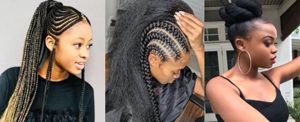 black women hairstyles including braids, cornrows and buns made from natural hair require the protective qualities of silk pillowcases