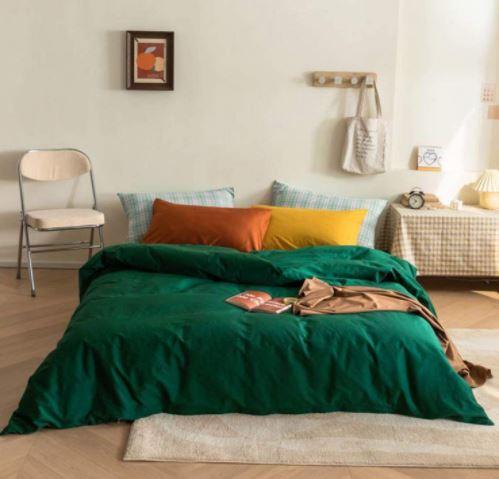 emerald green comforter set queen