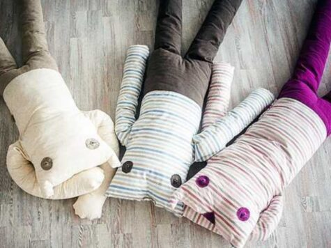 fill up toys made from old pillows