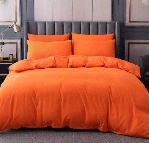 orange duvet cover set