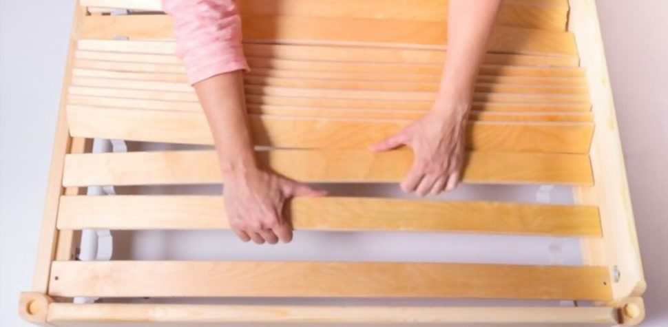 how to make bed slats stronger