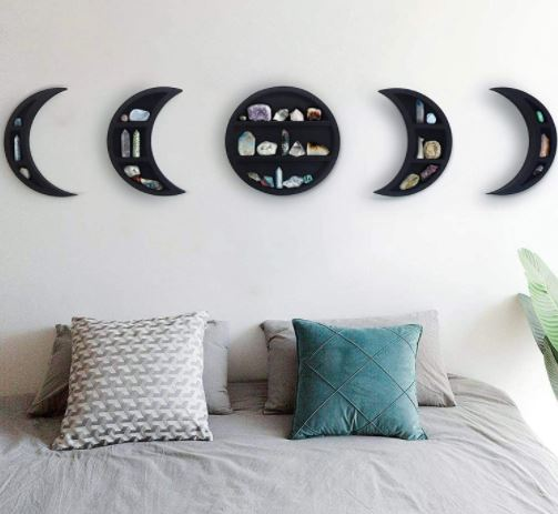 moon decoration for bedroom