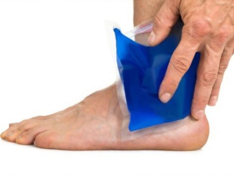 how to cool down hot feet at night